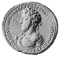 Coin depicting Commodus