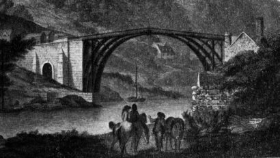 [The first iron bridge in the world]